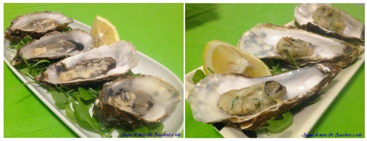 Le ostriche danno sempre un tocco di classe ad un menù di pesce...ecco 2 semplici ricette per servirle! Magari al cenone di capodanno...