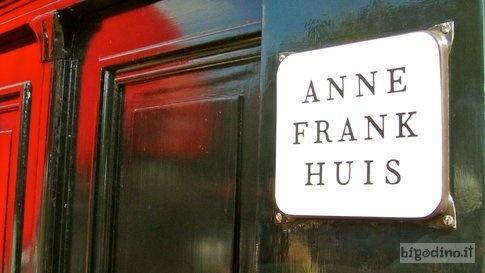 La casa di Anne Frank ad Amsterdam