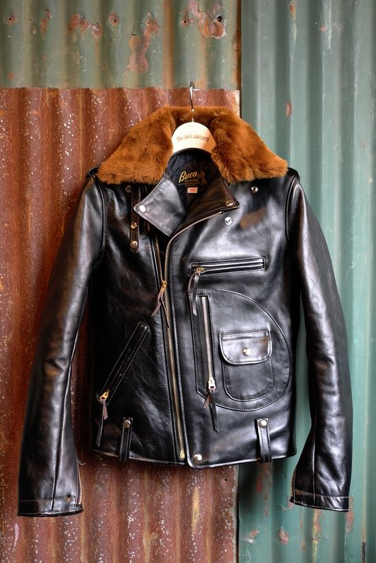 Buck j24 | leather pilot #jacket #fur