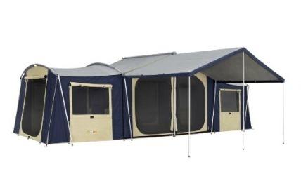 Oz Trail 12 Person Cabin Tent 'Chateau 12' (Auction ID: 1226, End Time : Dec. 31, 2015 15:19:00) - Australian Auctions Online