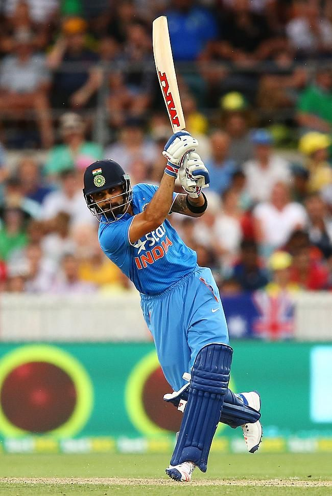 In run chase of 349, Virat Kohli led India's charge with a century, his 25th in ODIs.