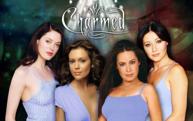 Paige Phoebe Piper Prue The Charmed Ones In 2021 Charmed Prue Christy