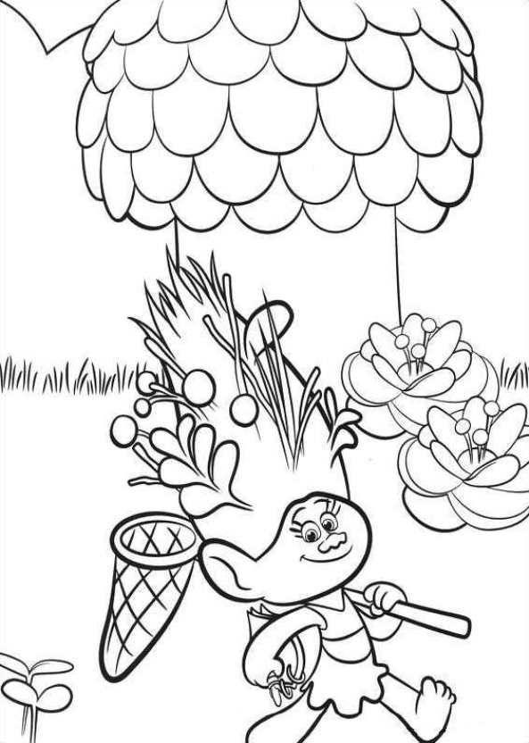 26 coloring pages of Trolls on Kids-n-Fun.co.uk. On Kids-n