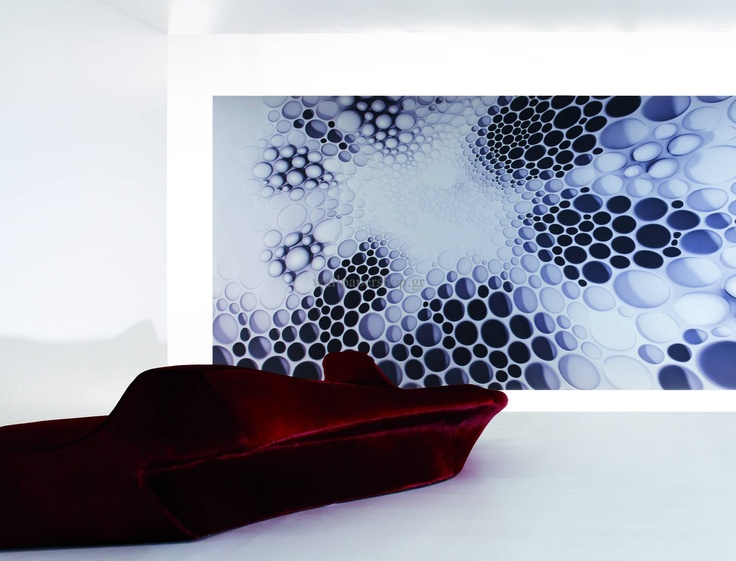Wallpapers :: Modern :: Zaha Hadid Cellurar Part I Silver 3.00x3.30 No 1385 - WallpaperShop