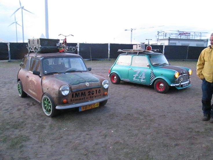 Scrat feat. Vintage mini, both from the Netherlands.Photo CVM classic miniparts, NL www.c-v-m.nl