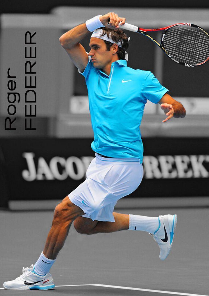 USA Tennis Player ; Roger Federer!