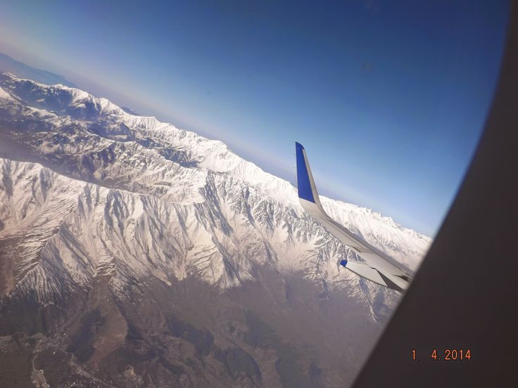 This is part 2 of beautiful pictures of Kashmir from Aero Plane.