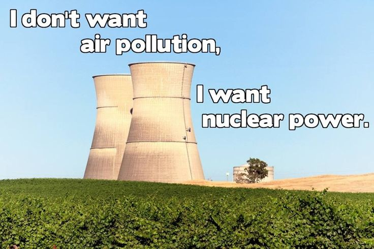 Nuclear Power Statuons Share this with your friends and family.   Remind them that when nuclear power is taken away, fossil fuels will fill the void.