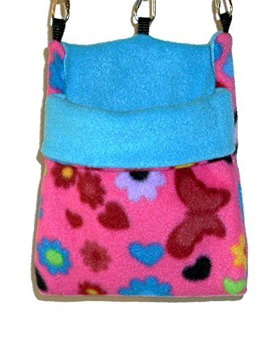 SoFun Pet Products is pleased to offer our Small Sugar Glider Cage Pouch for sale on Amazon. Our Sugar Glider pouches are made of soft double layered fleece and are ideally sized for multiple sugar gl...