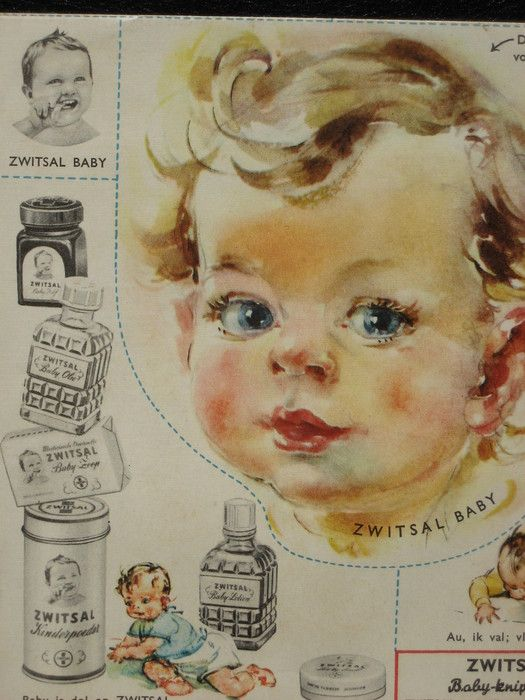 Reclame folder van onder andere Zwitsal die betrekking hebben op zwangerschap en geboorte - ca. 1968