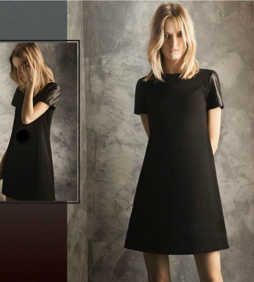 Different little black dress
