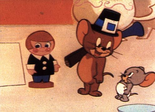 """""""Feedin' the Kiddie"""" Tom and Jerry and Nibbles Thanksgiving"""
