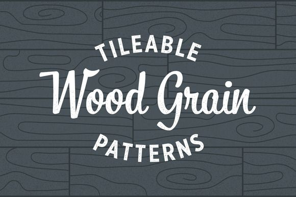 Wood Grain Patterns - Tileable by Ramsey Creative on @creativemarket