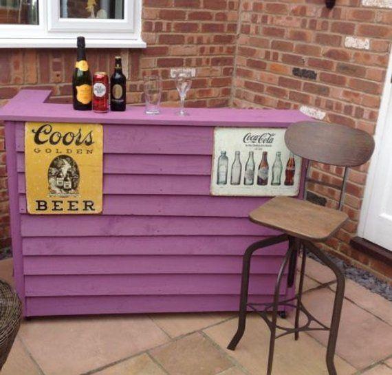 Outdoor Bar Garden Pub Home Bar Garden Bar Etsy Outdoor Bar