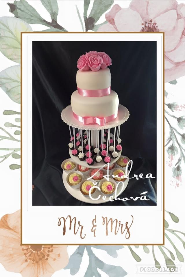 wedding cake ,  svatební dort, cake pops , cupcake