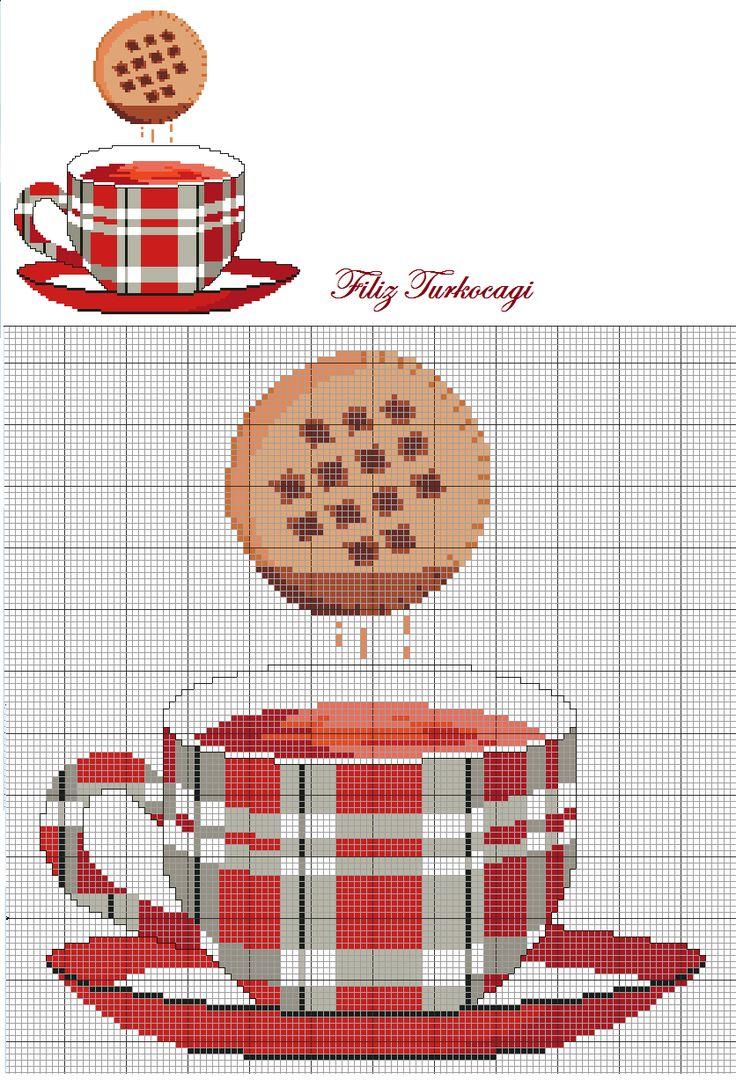 Kaç yaşıma geldim, hala bisküviyi çaya batırarak yiyorum iyi mi ? ( tea time ) Designed by Filiz Türkocağı...