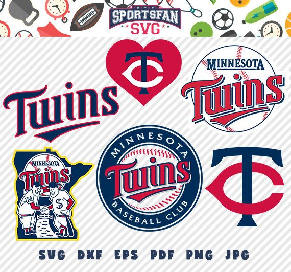 #Minnesota #Twins #MinnesotaTwins #logo svg pack- #baseballteam, #baseballleague, #baseball #cutfiles #vector #clipart #digitaldownload png, jpg, eps, dxf by SportsFanSVG on #Etsy