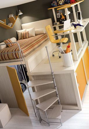 Great bedroom idea!