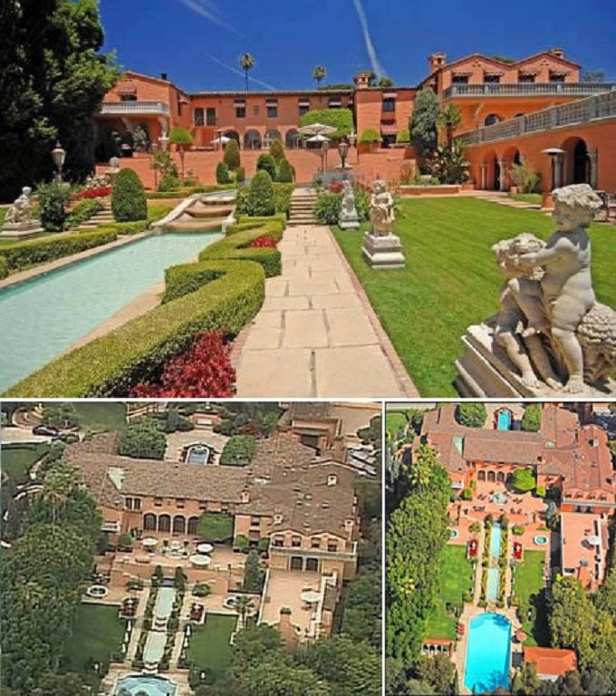 Hearst Mansion, Beverly Hill –The Godfather Mansion