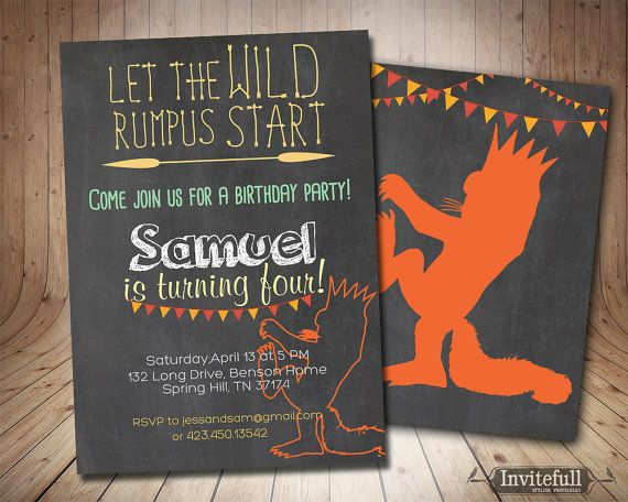 59 best Birthday Invitations Printable Party Invites images on