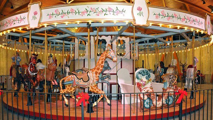 Rose Carousel at #butchartgardens #carousel