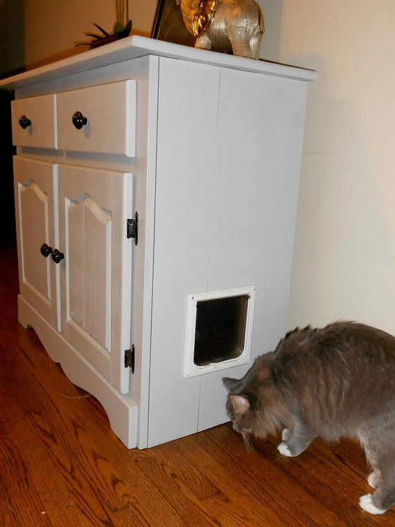 cat litter box covers furniture. cat litter box cabinet with drawers covers furniture