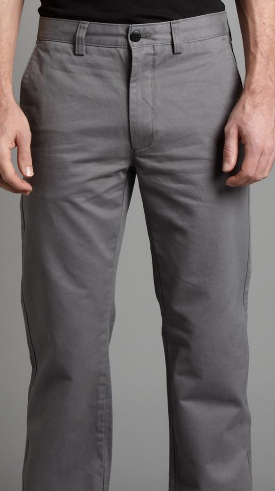 Dockers Weatherproof Utility Chino Gray Men's Pants Size 32 X 30 NWT $65 #DOCKERS #CasualPants