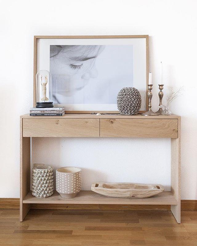Espacios 100 inspiradores con nuestra consola lure en casa de naluadulce buenas noches - Consolas muebles ...