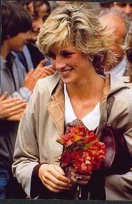 Diana after a rain shower