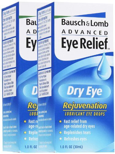 #care #Advanced Eye Relief Dry Eye Rejuvenation Lubricant Eye Drops soothes, refreshes and #comforts irritated, dry eyes. This formula contains two lubricants (gl...