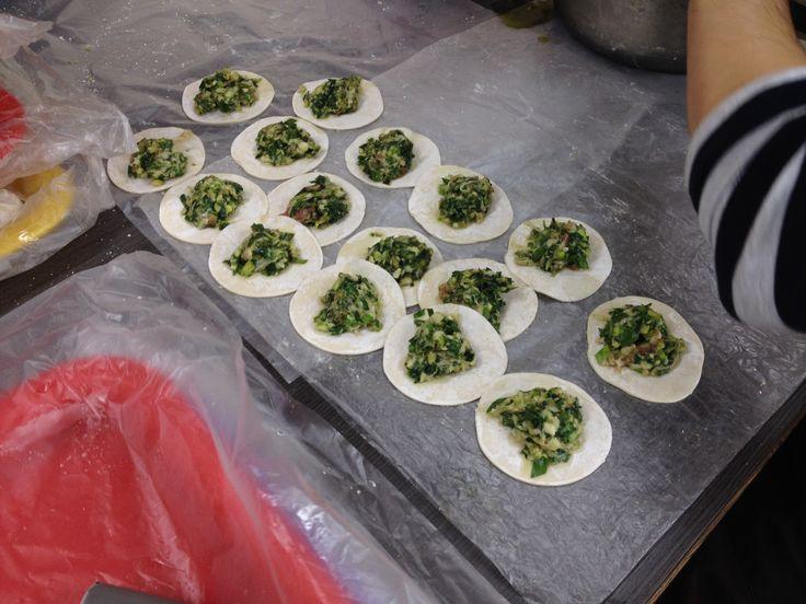Fresh handmade dumplings made daily - taiwan