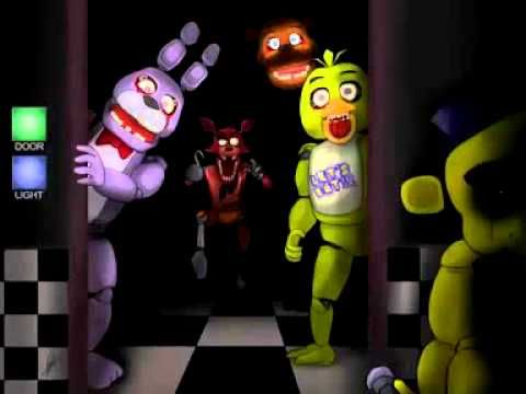 Top 6 Animatronicos Mas Aterradores De Five Nights At Freddy's fnaf y fn...