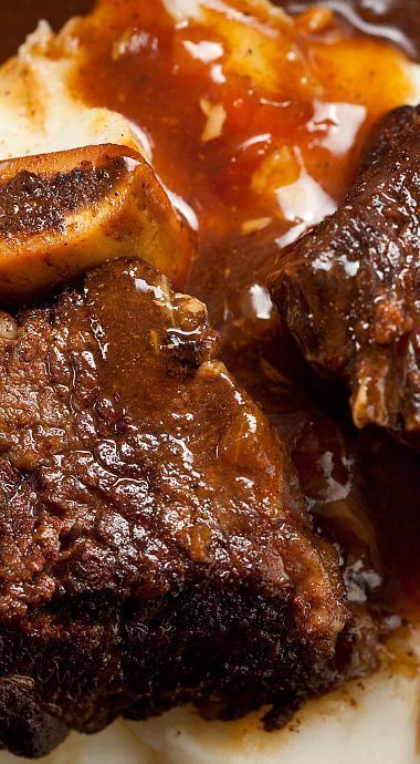 Pressure Cooker Cola-Braised Beef Short Ribs. It needs about 15 to 20 minutes added cooking time to the recipes instructions for fall off the bone, fall apart, succulent short ribs.