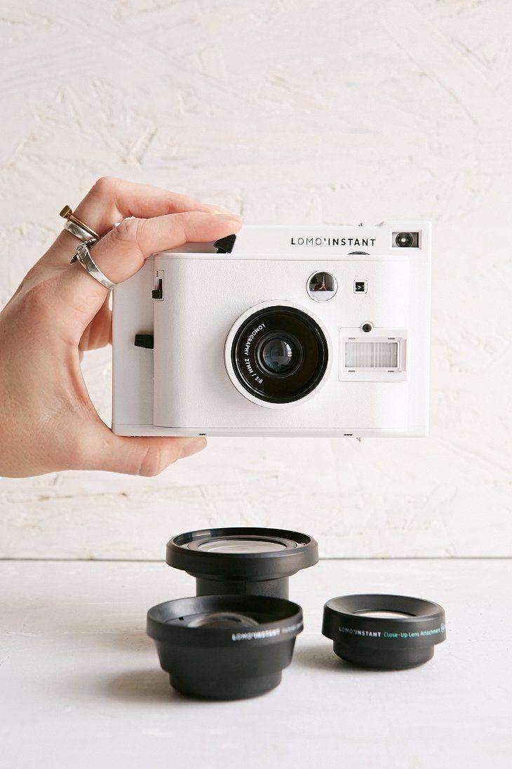 Lomography Lomo'Instant Camera + 3 Lenses Set BIRTHDAY PRESENT!!!