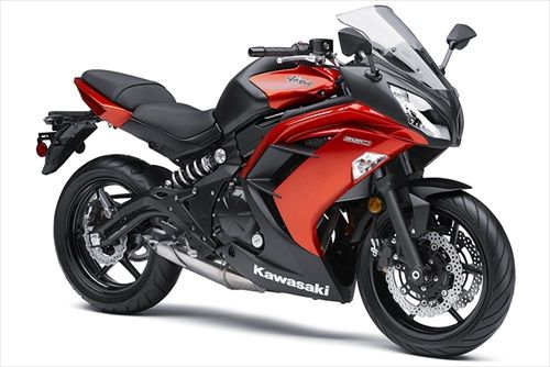 New Kawasaki Ninja motorcycles in the series model has ABS, engine type Four-stroke, liquid-cooled, DOHC, four-valve, parallel twin with displacement of 649 cc. New 2014 Kawasaki Ninja 650 ABS is truly a sports model of perfect design and excellent features. See the full text ......