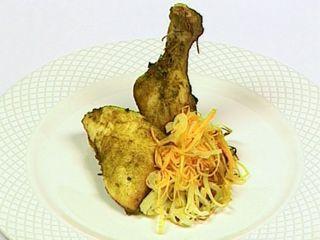 Pollo al curry con zanahoria y cebolla en elgourmet
