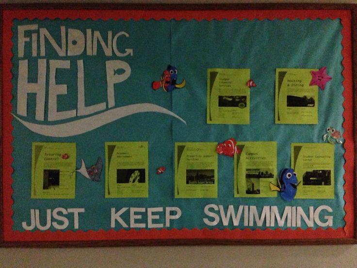 RA bulletin board ideas... #UCO