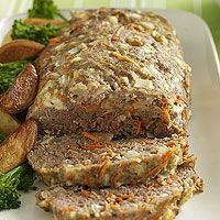 Combine Greek seasoning with carrots and feta cheese to give traditional meatloaf a makeover.