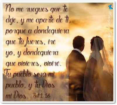Mensajes y Palabras de Verdad: Versiculos Biblicos para bodas.