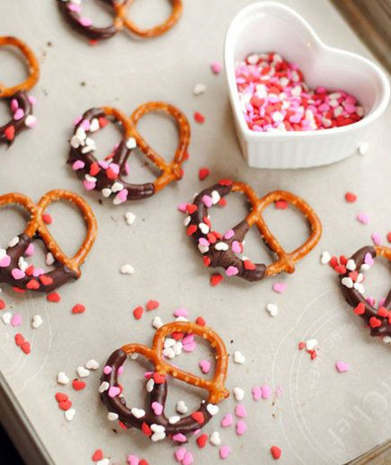 Salty, sweet, and adorable, too—these mini pretzels will be hard to put down. Set them out at a party for a festive snack, or give them to guests as an edible party favor. Better yet? Invite your friends over and make them together, experimenting with all different types of chocolate.