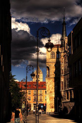A Street of Leon - Spain