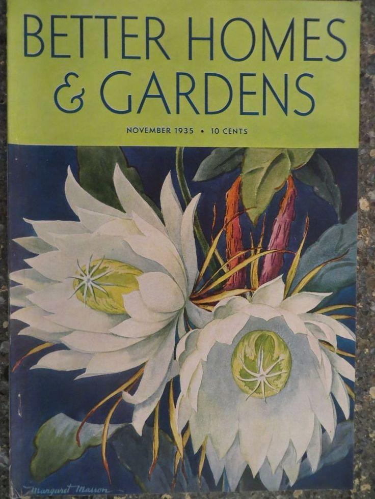 Better Homes Gardens: Better Homes & Gardens Magazine November 1935 Margaret