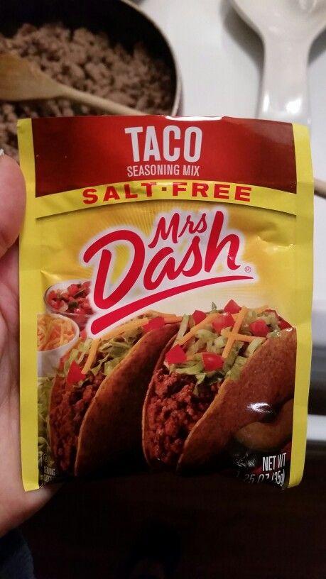 Saba 60 approved!!! Mrs. Dash salt free taco seasoning!