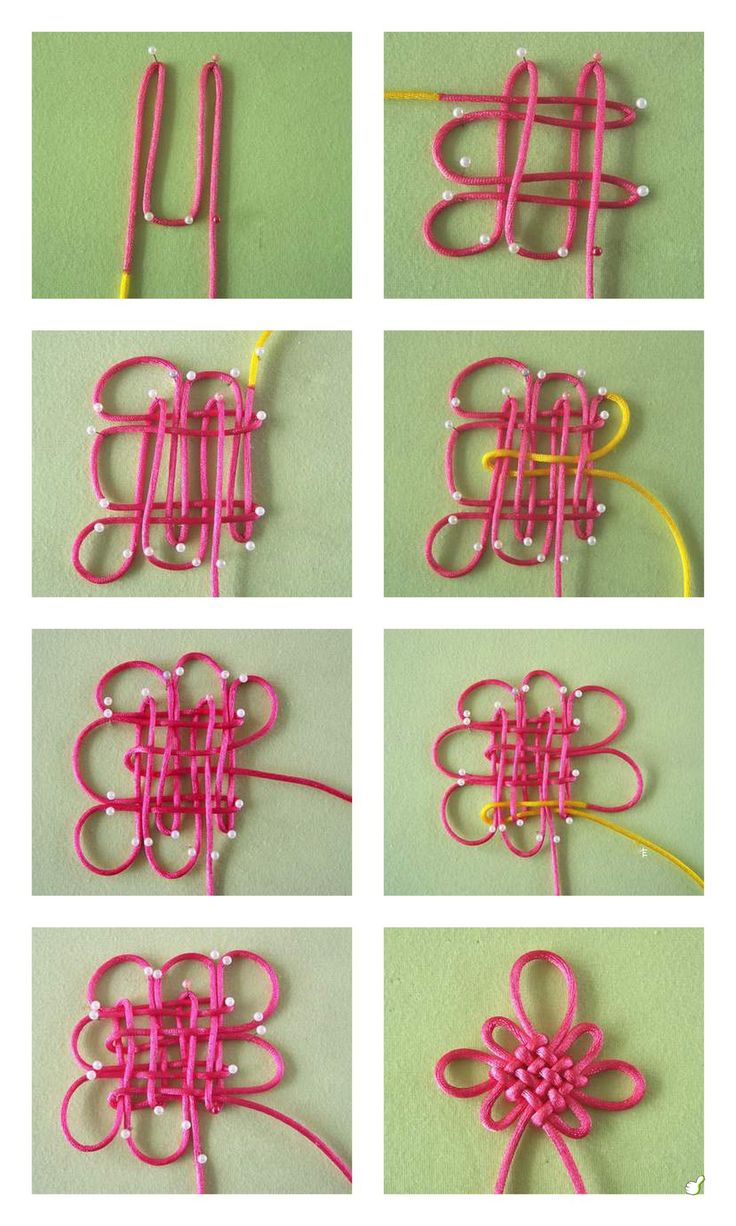 40558 diy flower knot