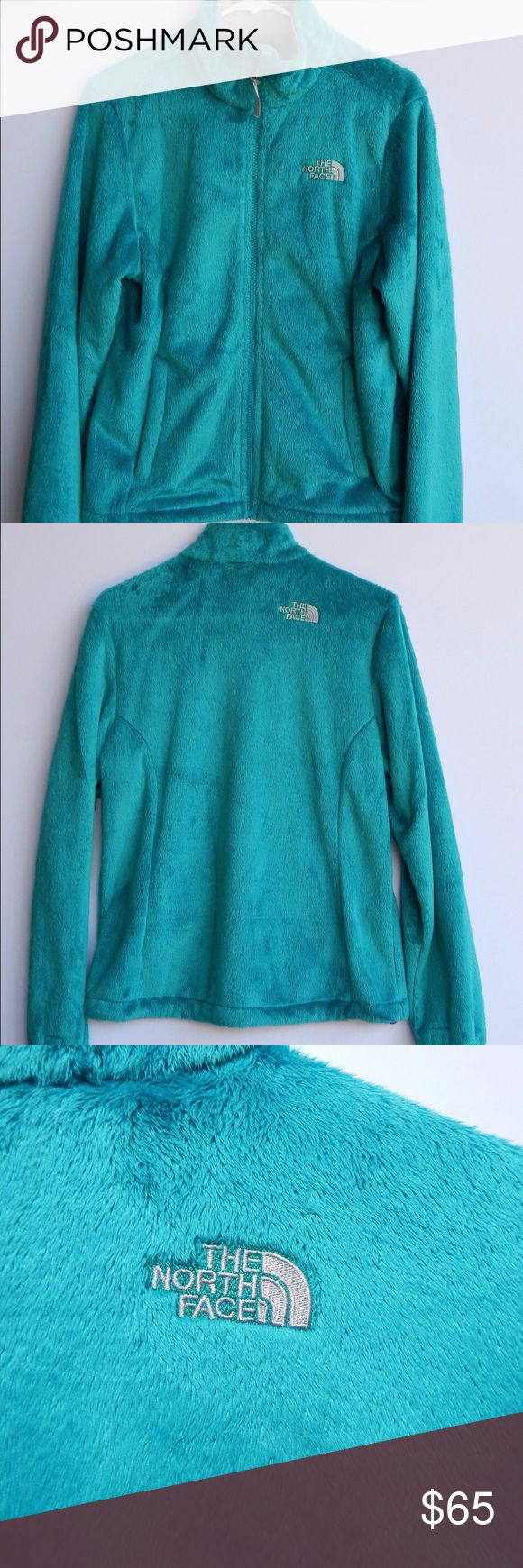 New North Face Fleece Jacket Super soft turquoise north face jacket! It is in new condition, never has been worn but only tried on. Prices are always negotiable The North Face Jackets & Coats