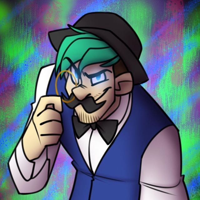 I like to call this guy 'The Curator'  #jacksepticeye #thecurator #artcollector