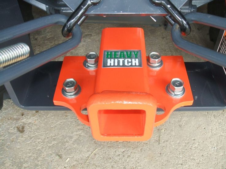Rear 2 Inch Receiver Hitch Plate for Kubota BX Series Tractors   Made in the USA   Heavy Hitch   $79.00