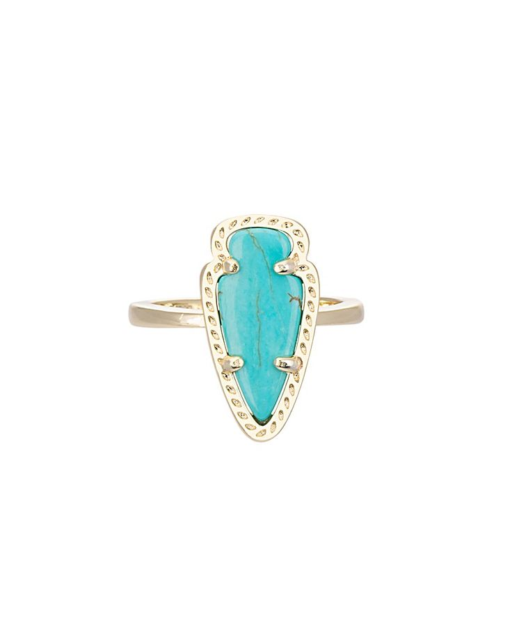 Skylen Ring in Turquoise - Kendra Scott Jewelry. Coming July 16!