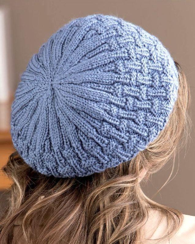 bereta bleu spate