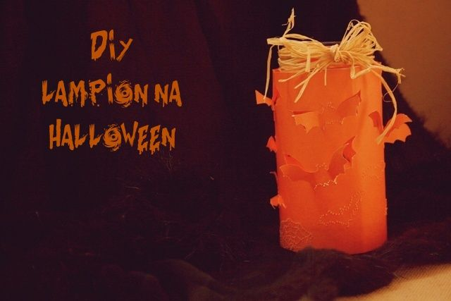 Ważkowa : Lampion na Halloween